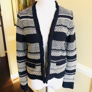 NWT Loft navy cardigan jacket